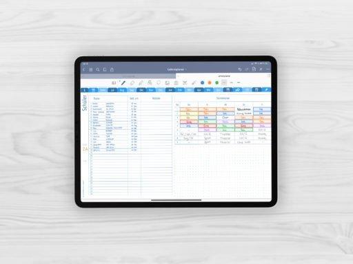 Produktbild fuer Shop Lehrerplaner Schuljahr 2021/2022 Short Journal Kalender Lehrerkalender Schuelerliste der Klasse mit Stundenplan beispielhaft gefuellt mit EmoLog, Notizen und Journaling Muster